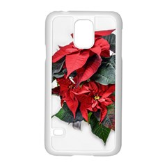 Star Of Bethlehem Star Red Samsung Galaxy S5 Case (white)