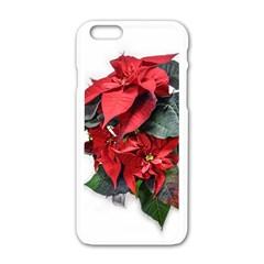 Star Of Bethlehem Star Red Apple Iphone 6/6s White Enamel Case