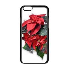 Star Of Bethlehem Star Red Apple Iphone 6/6s Black Enamel Case