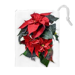 Star Of Bethlehem Star Red Drawstring Pouches (extra Large)