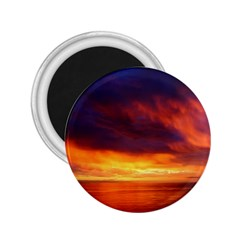 Sunset The Pacific Ocean Evening 2 25  Magnets