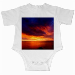 Sunset The Pacific Ocean Evening Infant Creepers