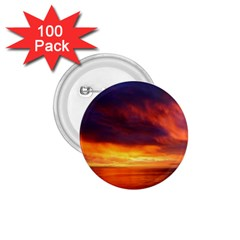 Sunset The Pacific Ocean Evening 1 75  Buttons (100 Pack)