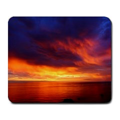 Sunset The Pacific Ocean Evening Large Mousepads