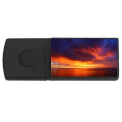 Sunset The Pacific Ocean Evening USB Flash Drive Rectangular (4 GB)