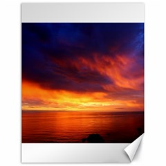 Sunset The Pacific Ocean Evening Canvas 18  X 24