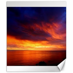 Sunset The Pacific Ocean Evening Canvas 20  X 24