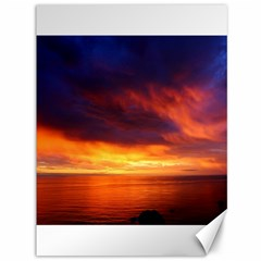 Sunset The Pacific Ocean Evening Canvas 36  X 48