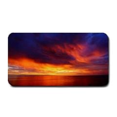 Sunset The Pacific Ocean Evening Medium Bar Mats