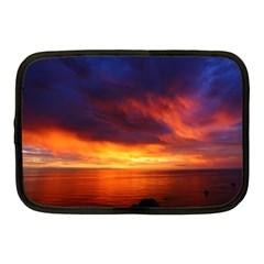 Sunset The Pacific Ocean Evening Netbook Case (medium)