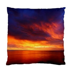 Sunset The Pacific Ocean Evening Standard Cushion Case (Two Sides)