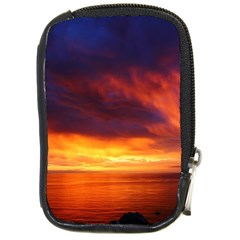 Sunset The Pacific Ocean Evening Compact Camera Cases