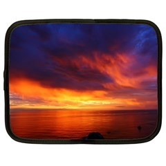 Sunset The Pacific Ocean Evening Netbook Case (xl)