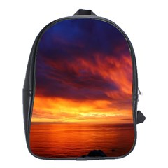 Sunset The Pacific Ocean Evening School Bags(large)