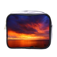 Sunset The Pacific Ocean Evening Mini Toiletries Bags