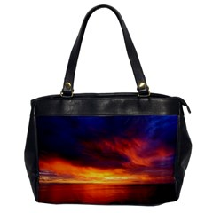 Sunset The Pacific Ocean Evening Office Handbags