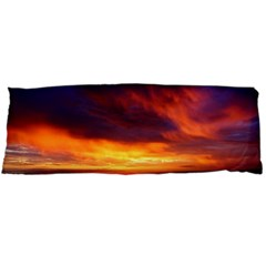 Sunset The Pacific Ocean Evening Body Pillow Case Dakimakura (two Sides)