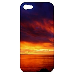 Sunset The Pacific Ocean Evening Apple Iphone 5 Hardshell Case