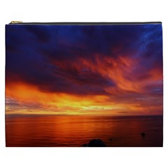 Sunset The Pacific Ocean Evening Cosmetic Bag (xxxl)
