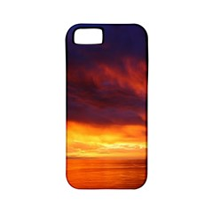Sunset The Pacific Ocean Evening Apple Iphone 5 Classic Hardshell Case (pc+silicone)