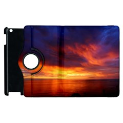 Sunset The Pacific Ocean Evening Apple Ipad 3/4 Flip 360 Case