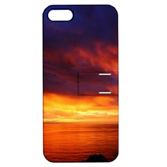 Sunset The Pacific Ocean Evening Apple Iphone 5 Hardshell Case With Stand