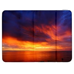 Sunset The Pacific Ocean Evening Samsung Galaxy Tab 7  P1000 Flip Case