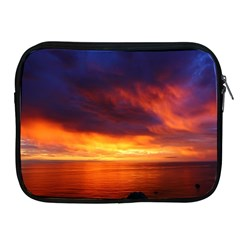 Sunset The Pacific Ocean Evening Apple Ipad 2/3/4 Zipper Cases