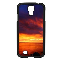 Sunset The Pacific Ocean Evening Samsung Galaxy S4 I9500/ I9505 Case (black)