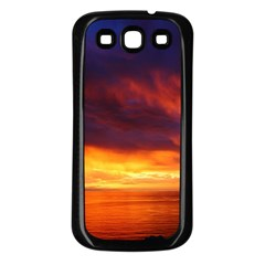 Sunset The Pacific Ocean Evening Samsung Galaxy S3 Back Case (black)