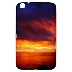 Sunset The Pacific Ocean Evening Samsung Galaxy Tab 3 (8 ) T3100 Hardshell Case