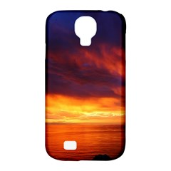 Sunset The Pacific Ocean Evening Samsung Galaxy S4 Classic Hardshell Case (pc+silicone)