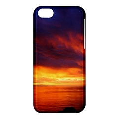 Sunset The Pacific Ocean Evening Apple Iphone 5c Hardshell Case
