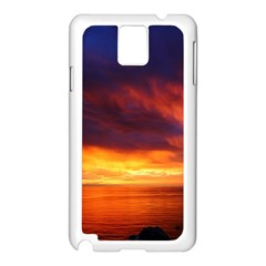 Sunset The Pacific Ocean Evening Samsung Galaxy Note 3 N9005 Case (white)