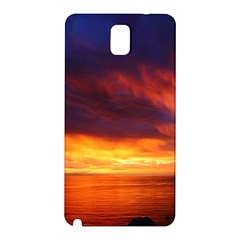 Sunset The Pacific Ocean Evening Samsung Galaxy Note 3 N9005 Hardshell Back Case