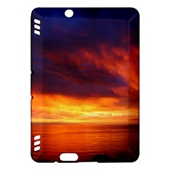 Sunset The Pacific Ocean Evening Kindle Fire Hdx Hardshell Case