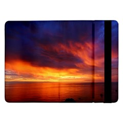 Sunset The Pacific Ocean Evening Samsung Galaxy Tab Pro 12 2  Flip Case