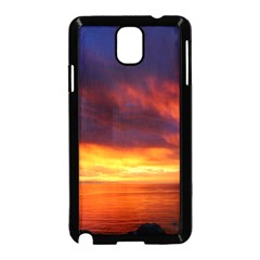 Sunset The Pacific Ocean Evening Samsung Galaxy Note 3 Neo Hardshell Case (black)