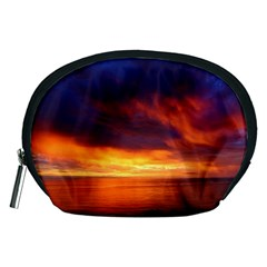 Sunset The Pacific Ocean Evening Accessory Pouches (medium)