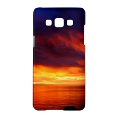 Sunset The Pacific Ocean Evening Samsung Galaxy A5 Hardshell Case