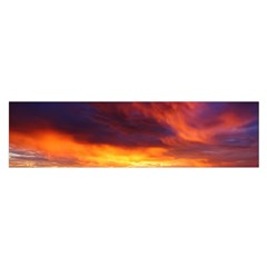 Sunset The Pacific Ocean Evening Satin Scarf (oblong)