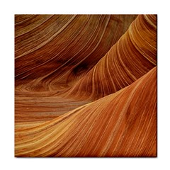 Sandstone The Wave Rock Nature Red Sand Tile Coasters
