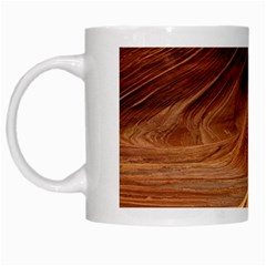 Sandstone The Wave Rock Nature Red Sand White Mugs