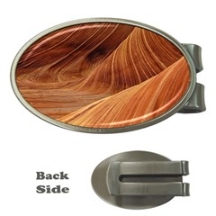 Sandstone The Wave Rock Nature Red Sand Money Clips (oval)