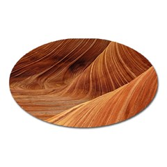 Sandstone The Wave Rock Nature Red Sand Oval Magnet