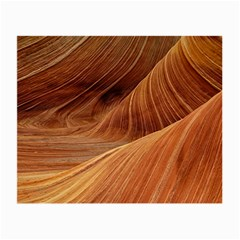 Sandstone The Wave Rock Nature Red Sand Small Glasses Cloth