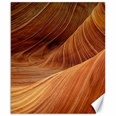 Sandstone The Wave Rock Nature Red Sand Canvas 20  X 24