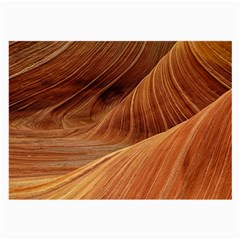 Sandstone The Wave Rock Nature Red Sand Large Glasses Cloth