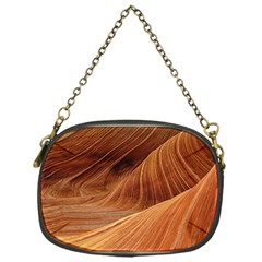Sandstone The Wave Rock Nature Red Sand Chain Purses (one Side)