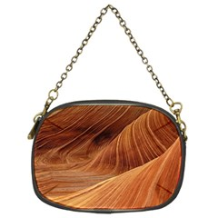 Sandstone The Wave Rock Nature Red Sand Chain Purses (two Sides)